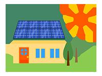 太陽光発電について