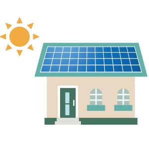 太陽光発電の運転開始