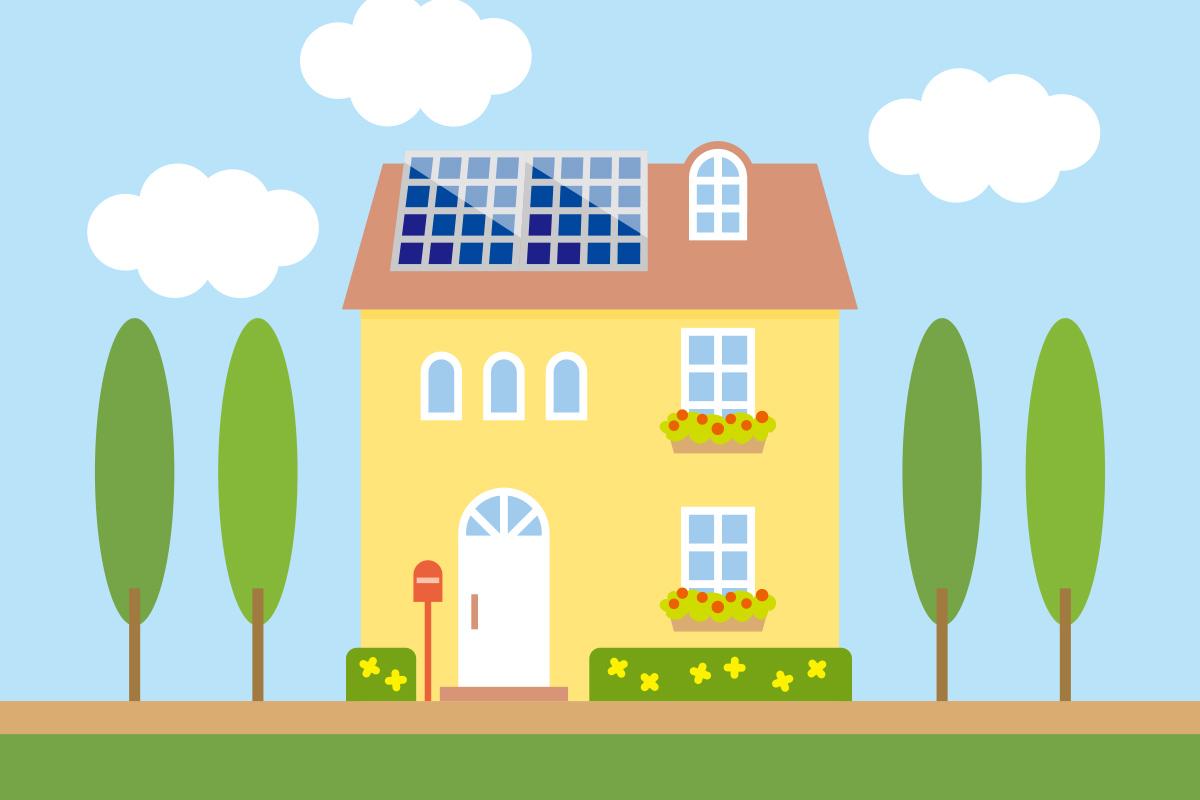 自家発電できれば、災害への備えになる